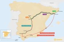 Map thumbnail of Barcelona & Madrid: Best Itinerary Ideas