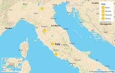 Map thumbnail of Rome, Orvieto, Florence, & Verona - 11 Days