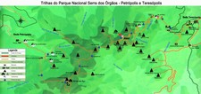 Map thumbnail of Trek Brazil's Petrópolis-Teresópolis Crossing - 3 Days