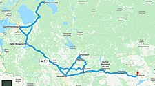 Map thumbnail of Grand Russia Tour - 20 Days