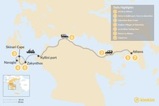 Map thumbnail of Explore Zakynthos Island - 7 Days