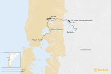 Map thumbnail of How to Get from Puerto Montt to Bariloche