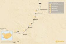 Map thumbnail of Laugavegur Hut-to-Hut Trek - 5 Days