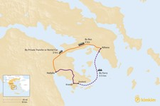 Map thumbnail of How to Get from Athens to Nafplio