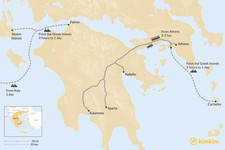 Map thumbnail of How to Get to the Peloponnese Peninsula