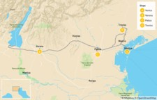 Map thumbnail of Food & Wine in Verona, Padua & Treviso - 9 Days