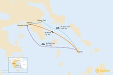 Map thumbnail of How to Get from Athens to Syros