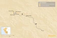 Map thumbnail of Short Inca Trail to Machu Picchu - 2 Days