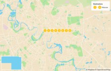 Map thumbnail of Cultural Immersion in Moscow - 8 Days