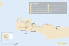 Map thumbnail of Crete 101 - 9 Days