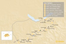 Map thumbnail of Bernese Oberland Traverse - 7 Days