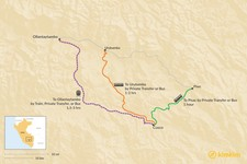Map thumbnail of How to Get from Cusco to the Sacred Valley