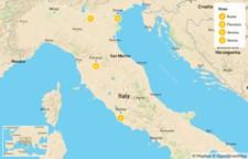 Map thumbnail of Rome, Florence, Verona, & Venice - 15 Days