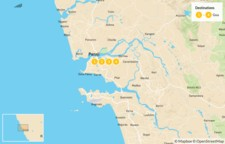 Map thumbnail of The Beaches Of Goa - 5 Days