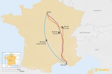 Map thumbnail of How to Get from Paris to Marseille