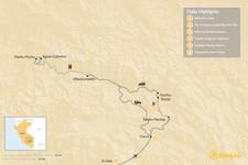 Map thumbnail of Huchuy Qosqo & Machu Picchu - 6 Days