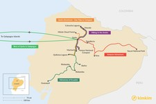 Map thumbnail of 7 Days in Ecuador - 5 Unique Itinerary Ideas