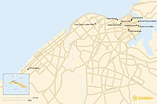 Map thumbnail of Top 10 Boutique Hotels in Havana