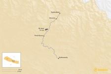 Map thumbnail of How to Get from Kathmandu to Syabrubesi