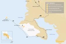 Map thumbnail of Osa Peninsula Luxury Jungle Adventure - 5 Days
