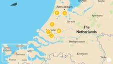 Map thumbnail of Highlights of Holland - 10 Days