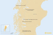 Map thumbnail of Best Treks in Patagonia