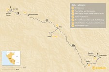 Map thumbnail of Cusco Ridges - 8 Days