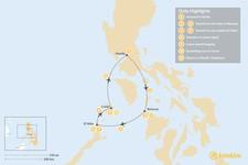 Map thumbnail of Philippine Honeymoon: Boracay, El Nido & Coron - 11 Days
