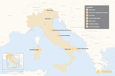 Map thumbnail of Beyond Hotels: 7 Unique Places to Stay in Italy