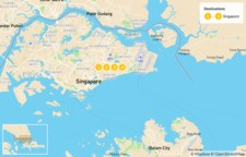 Map thumbnail of Highlights of Singapore - 5 Days