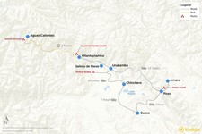 Map thumbnail of Cultural Highlights of the Sacred Valley