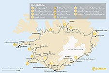Map thumbnail of Iceland Ring Road & Snaefellsnes Peninsula - 11 Days