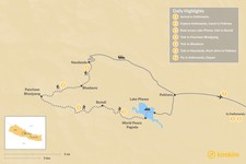 Map thumbnail of Panchase Trek - 7 Days