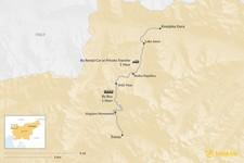 Map thumbnail of How to Get from Kranjska Gora to Trenta