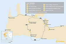 Map thumbnail of Best of Western Crete - 9 Days