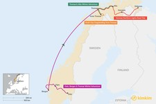 Map thumbnail of Best Winter Itineraries in Norway