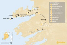 Map thumbnail of Discover the Dingle Peninsula - 10 Days