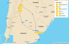 Map thumbnail of Explore Northern Argentina - 13 Days