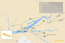 Map thumbnail of Best of Chitwan National Park - 8 Days