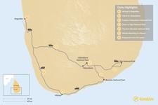 Map thumbnail of Best of Sri Lanka's Wildlife - 7 Days