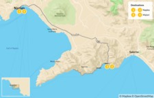 Map thumbnail of Naples & Amalfi Coast - 5 Days