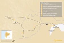 Map thumbnail of Best of the Ecuadorian Amazon: 7 Days