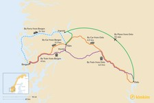 Map thumbnail of How to Get to Flåm