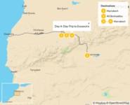 Map thumbnail of A Taste of Morocco: Marrakech, Aït Benhaddou, & Essaouira - 5 Days
