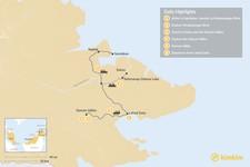 Map thumbnail of Eastern Borneo Wildlife Tour - 6 Days