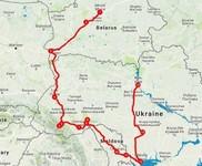 Map thumbnail of Best of Belarus, Moldova & Ukraine - 16 Days
