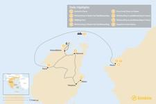 Map thumbnail of Paros & Naxos Family Adventure - 8 Days