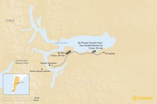 Map thumbnail of How to Get from El Calafate to Los Glaciares National Park