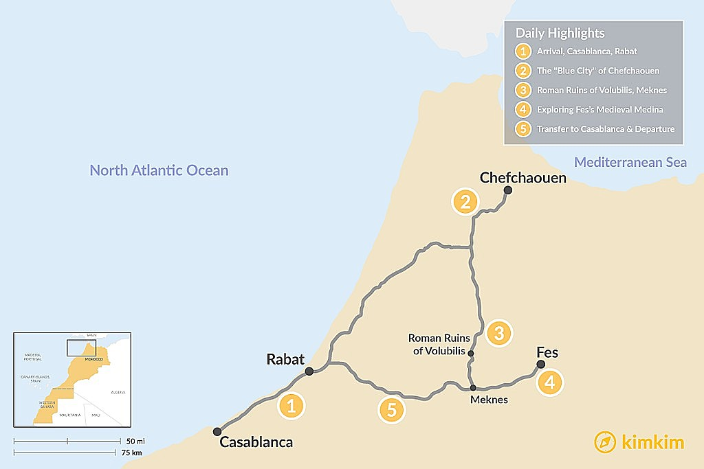 Morocco Travel Maps - Maps to help you plan your Morocco Vacation ...