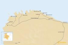 Map thumbnail of Ultimate Guide to Tayrona Park: Natural Wonders and Ancient Culture